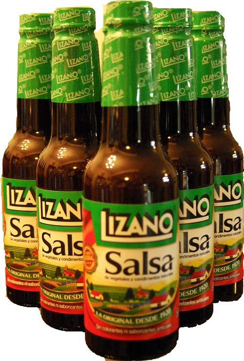 Lizano Salsa - Sauce: 280 mL Six Pack